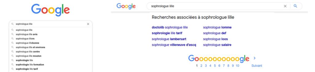 sandrine mille les pépites du bien etre google suggest